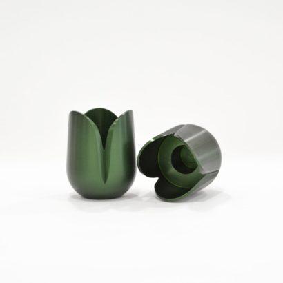 Modern Tulip candlesticks by Nadav Art