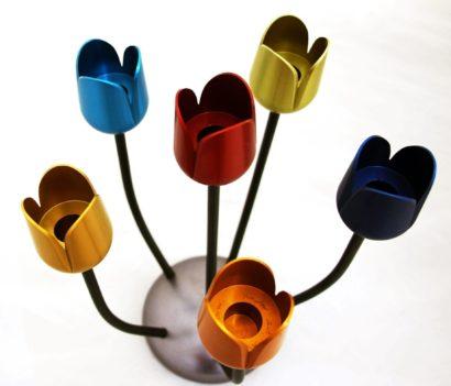 פרח צבעוני נברשת זרועות בהתאמה אישית